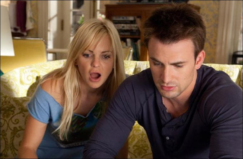 Anna Faris and Chris Evans in Whats your number