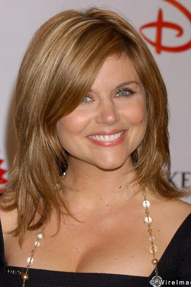 Bangs Tiffani Thiessen