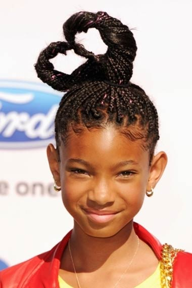 Willow Smith Hairstyle at BET Awards 2012