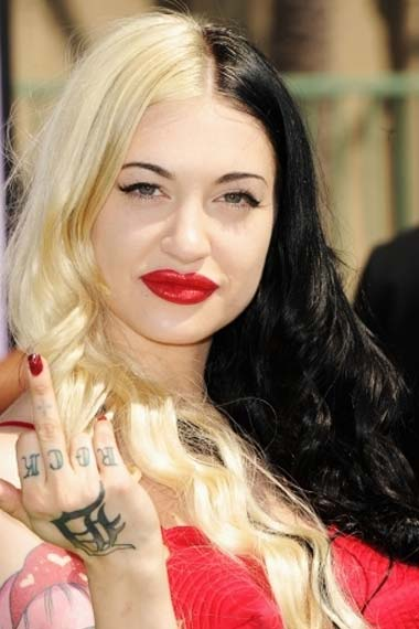 Porcelain Black Hairstyle at BET Awards 2012