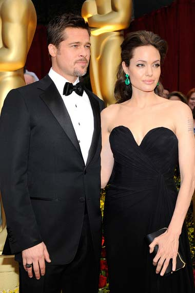 Brangelina at the premiere