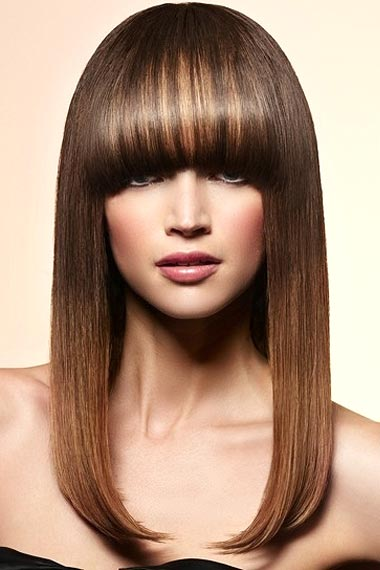 brunette with blonde highlights. Related articles for Brunette