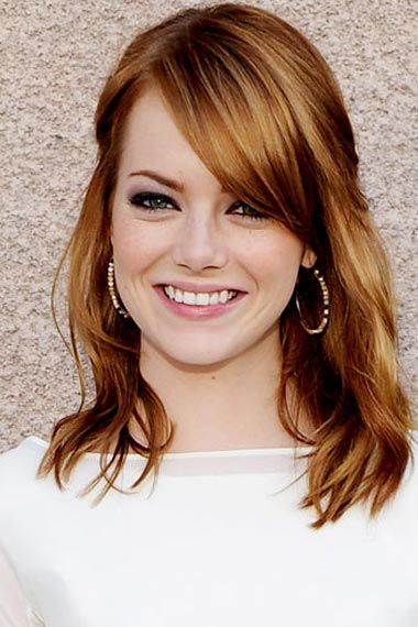 Emma Stone's Dimensional Red hair