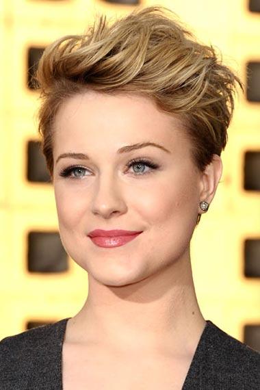 Short Hairstyles Evan Rachel Wood