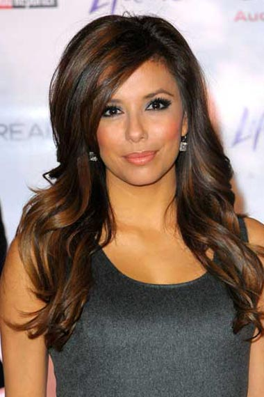 Brunette Hairstyles with Blonde Highlights.