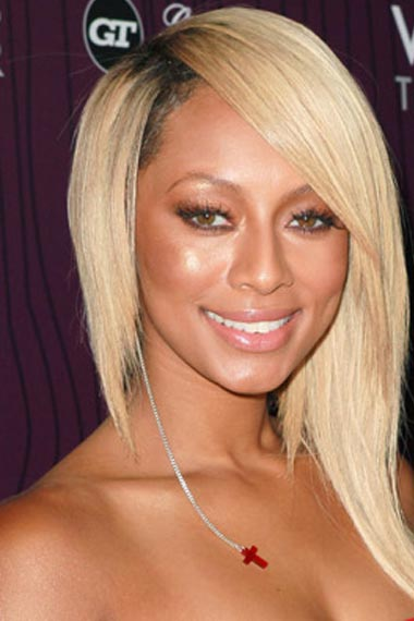 Keri Hilson  Long Hair Highlights