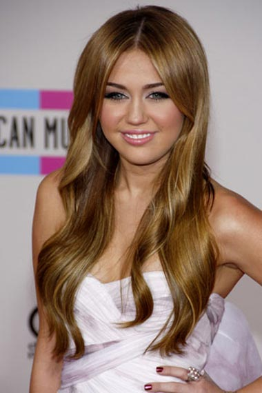 Miley Cyrus's Long Hairstyle
