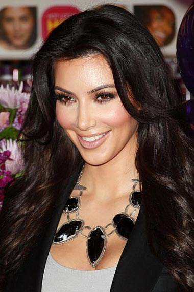 Kim Kardashian's Long Hairstyle
