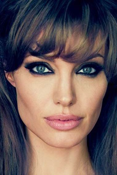 angelina jolie smoking weed. angelina jolie hairstyles 2011