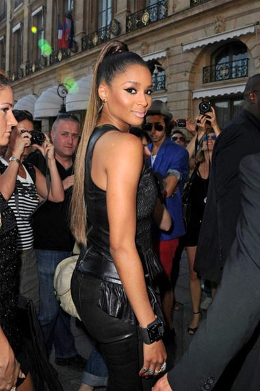 Ciara Ponytail hairstyle