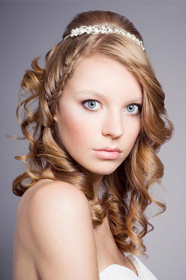 down style curly hair ideas
