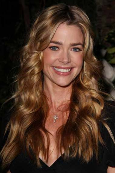 Denise Richards Long Wavy Brunette