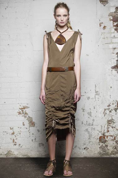 Donna Karan Spring 2012 Dress Collection