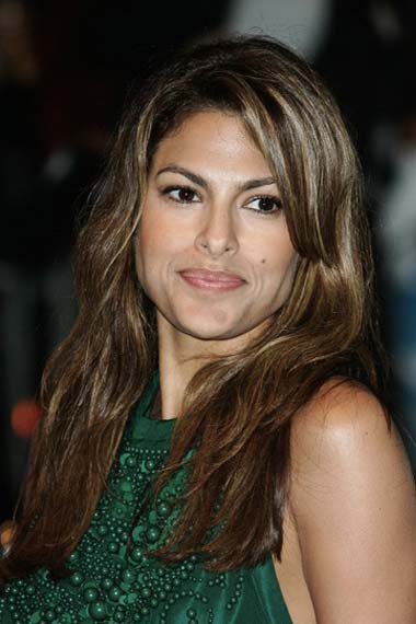 Eva Mendes Long Brunette