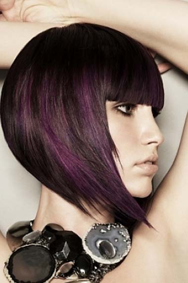funky hair color ideas for short hair. hair conditioning
