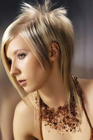 Short and funky hairstyles for women. Funky Hairstyles
