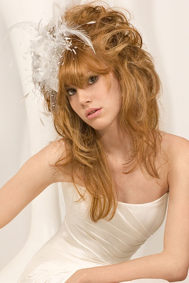 Curly hairstyles for wedding 2012