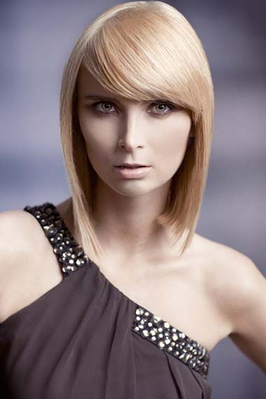 Medium Sleek Hairstyle