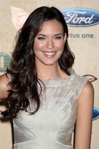Odette Annable's new hairstyle