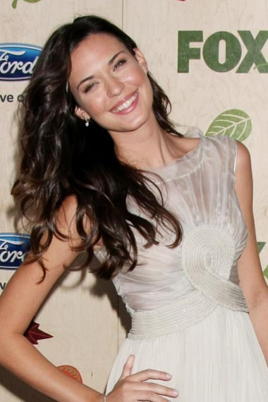 Odette Annable's loose curls