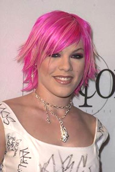 pink hairstyles on Celebrity Inspired Pink Hairstyles Ideas For Spring 2011