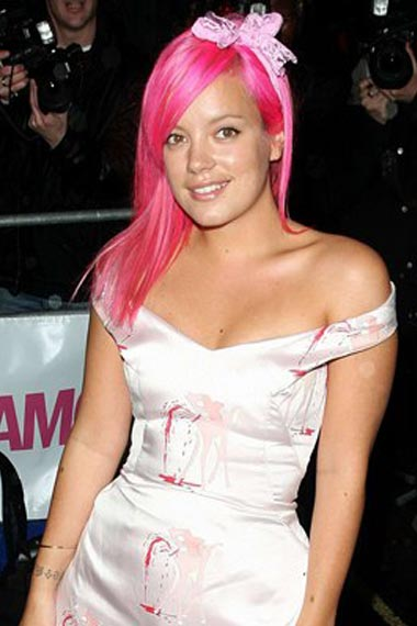 Top Pink Hairstyles for spring 2011