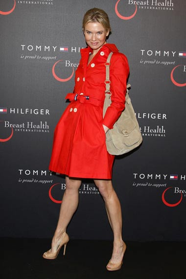 Renee Zellweger Red Coat