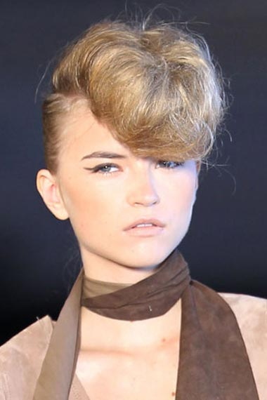 Runway Hot Hairstyles