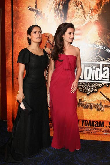 Penelope Cruz and Salma Hayek