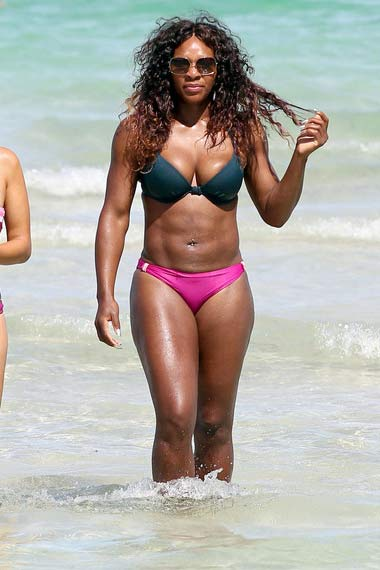 Serena Williams in bikini