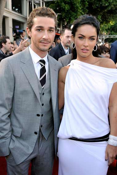 Shia with Megan Fox