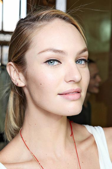 Stella McCartney Runway Models Makeup 2011
