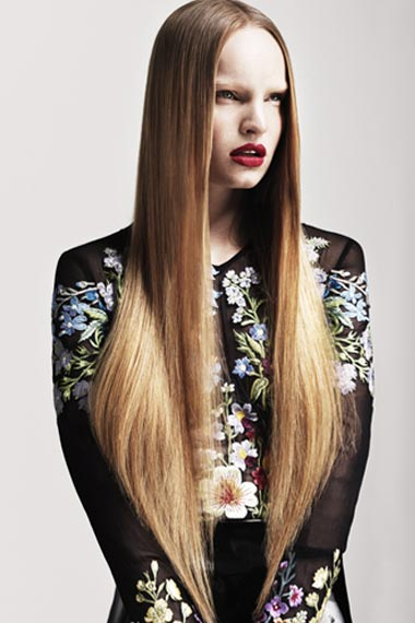 Hairstyles For Long Hair Down Straight : Straight Hairstyle Benefits