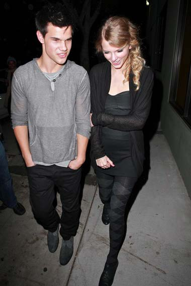 Taylor Swift and Taylor Lautner