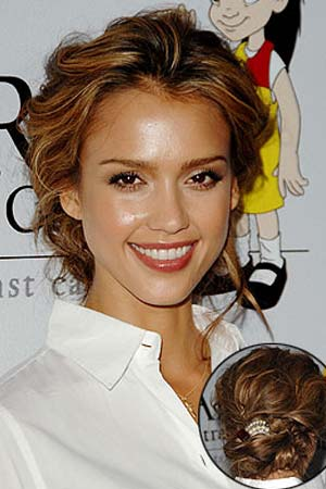 Updo hairstyle for 2012