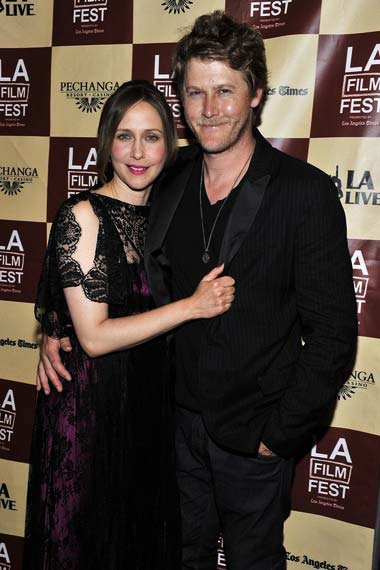 Vera Farmiga andd renn hawkey at Higher Ground Premiere