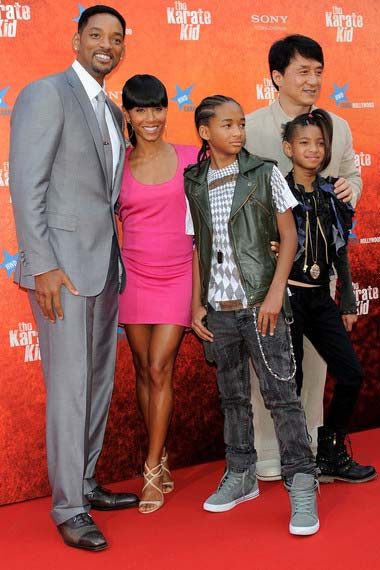 Will Smith and Jada Smith