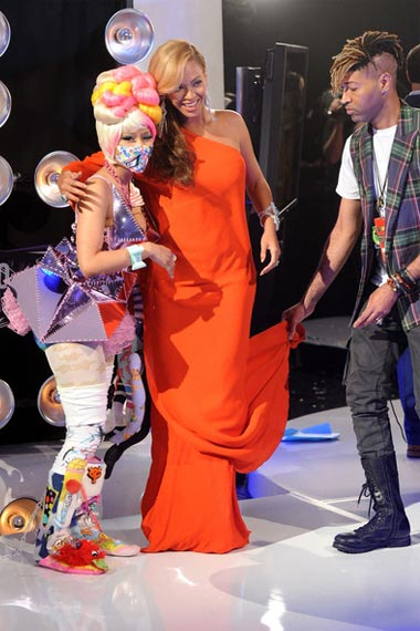 Beyonce with her baby bump