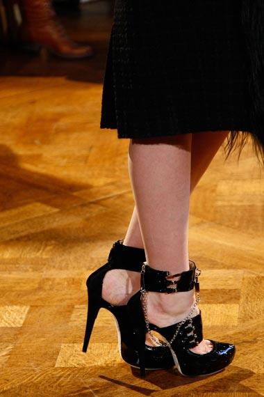 John Galliano shoes Fall/winter collection 2011/2012