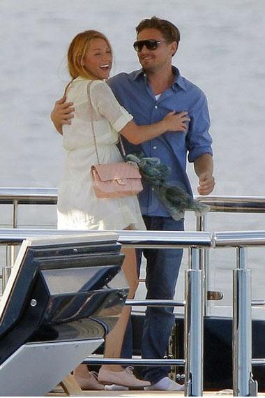 Leonardo DiCaprio and Blake Lively