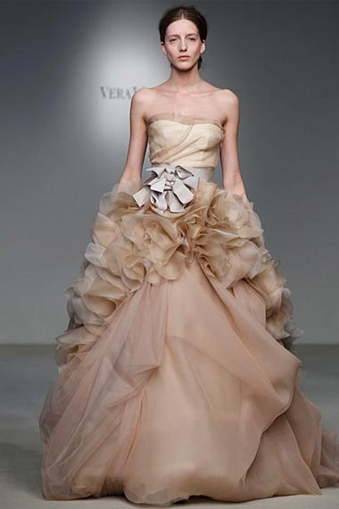 Bridal Collection for spring 2012 by Vera Wang