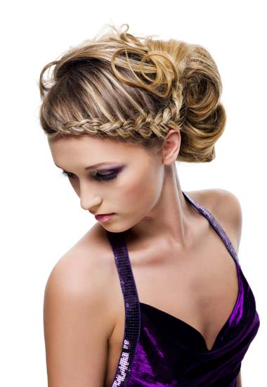 Stupendous Beautiful Braided Updo Hairstyle For Wedding Short Hairstyles For Black Women Fulllsitofus