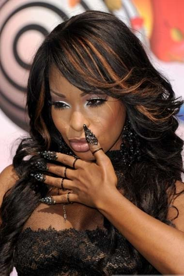 Porscha Coleman Hairstyle at BET Awards 2012