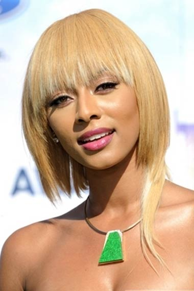 Keri Hilson Hairstyle at BET Awards 2012