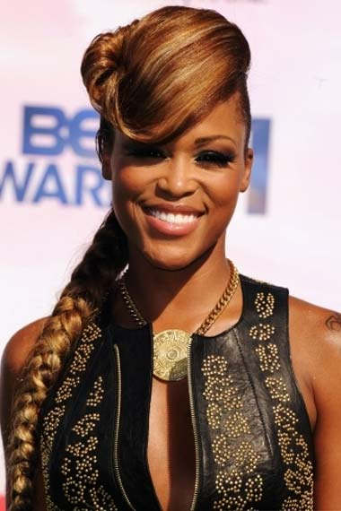 Eve Hairstyle at BET Awards 2012