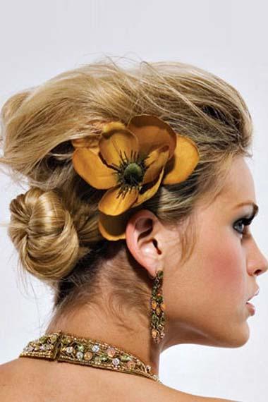 Chignon Bun Hairstyle
