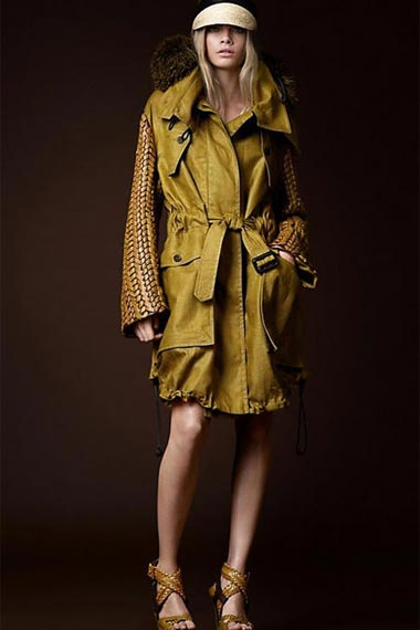 Prorsum Spring/Summer 2012:By Burberry