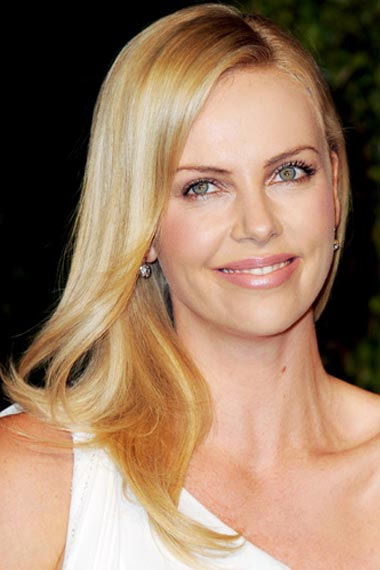 Charlize Theron's Buttery Blond