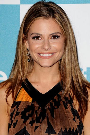 Maria Menounos's Tawny Highlights