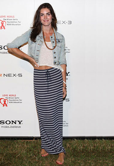 Hilary Rhoda | Celebrity Summer Accessories